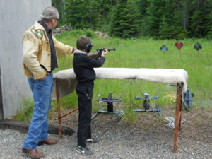Kootenay Kid times Junior Shooter